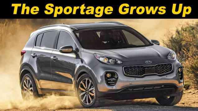 2017 Kia Sportage Review – The Sporty Mainstream Crossover