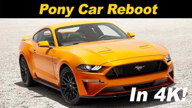 2018 / 2019 Ford Mustang Ecoboost Review