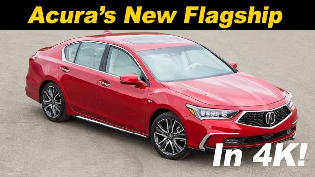 2018 Acura RLX Sport Hybrid First Drive Review