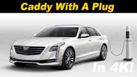 2018 Cadillac CT6 PHEV Plug In Hybrid Review
