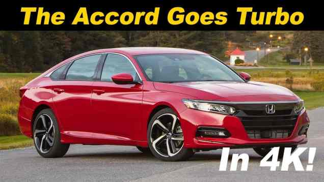 2018 Honda Accord 2.0T Review