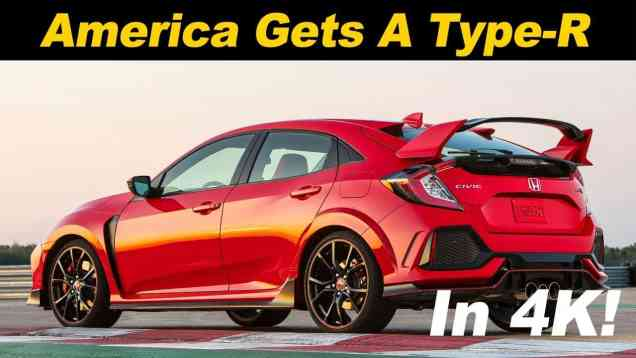 2018 Honda Civic Type-R First Drive