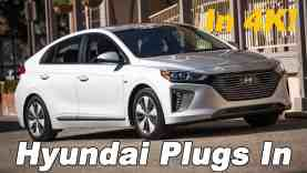 2018 Hyundai Ioniq PHEV Review and Comparison