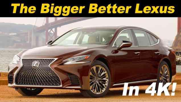 2018 Lexus LS 500 Review