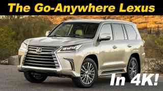 2018 Lexus LX 570 Review and Comparison