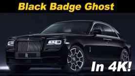 2018 Rolls Royce Black Badge Ghost Review