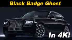 2018 Rolls Royce Black Badge Ghost Review