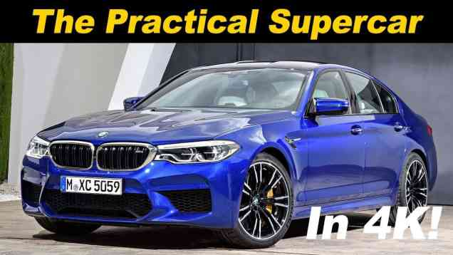 2019 BMW M5 Review