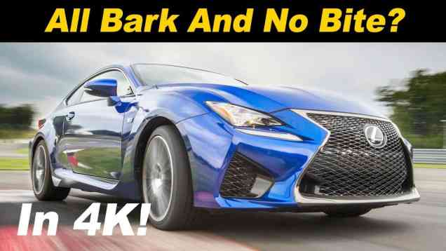 2019 Lexus RC F Review