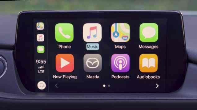 2019 Mazda Infotainment Review with CarPlay