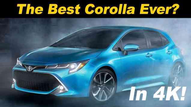 2019 Toyota Corolla Hatchback (aka Auris) Review