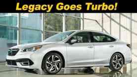 2020 Subaru Legacy First look