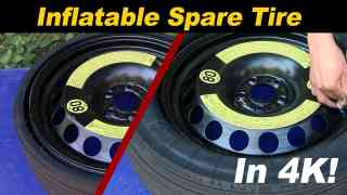 Expandable / Inflatable Spare Tire – Porsche, Audi, Volkswagen, Mercedes, Ferrari, Holden