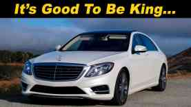 Insane Features of the Mercedes S550