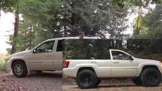 Jeep Grand Comanche project (Jeep Grand Cherokee pickup convesion) Part 1