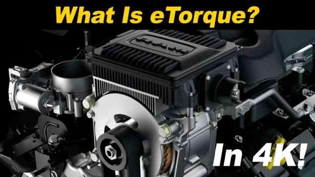 Jeep Wrangler & RAM 1500 eTorque Mild Hybrid System Explained