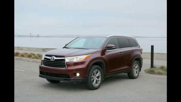 Review: 2014 Toyota Highlander XLE with video