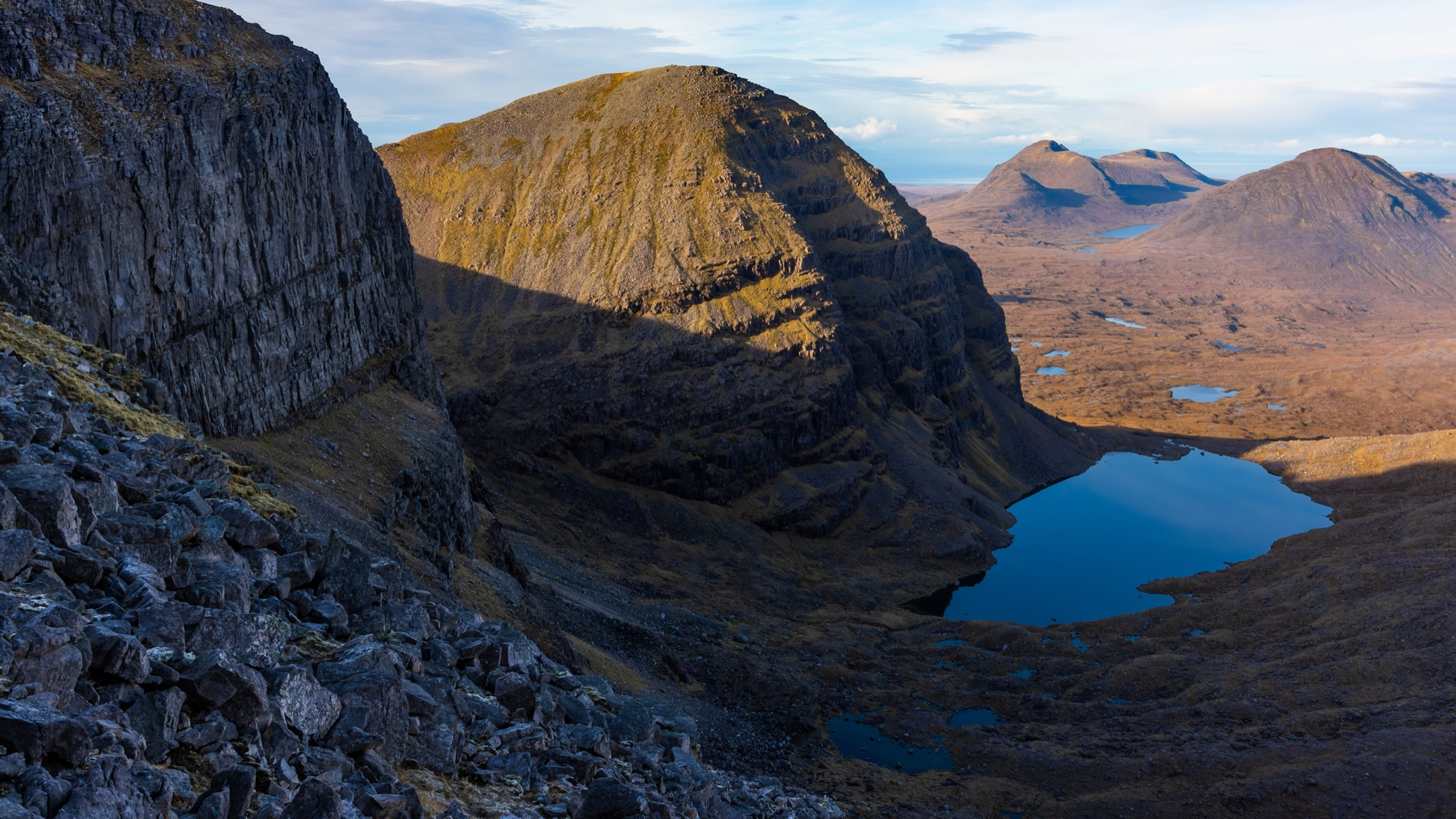High on Beinn Eighe © Alex Roddie