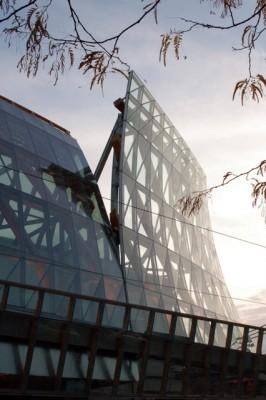 AGO - Gehry's curvy wood