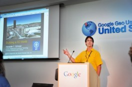Alex Schreyer at the Google Geo User Summit