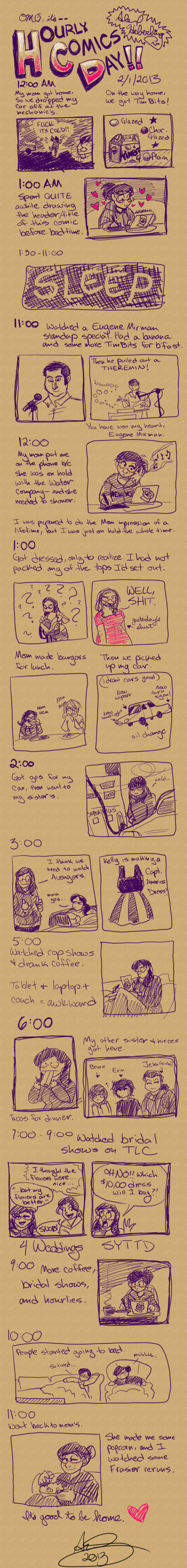 Hourly Comics Day