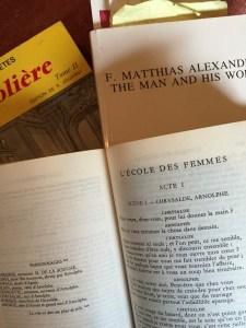 reading Molière and Lulie Westfeldt