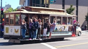 Cable car @San Francisco