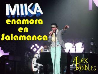Mika en Salamanca
