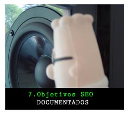 Objetivos SEO Documentados