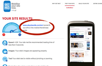 Mobile Web Tests Tools