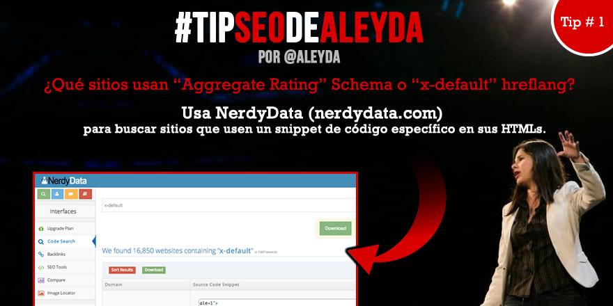 Tip SEO de Aleyda