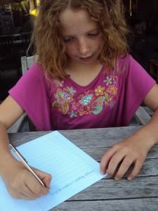 Handschrift is vaak de sleutel. Als u dat goed aanpakt, ziek kinderen snel dat ze wel kunnen vooruitkomen. En ze komen ook echt vooruit.