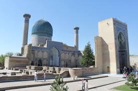 مقبرة الأمير تيمور بسمرقند في تصاوير المستشرقين
