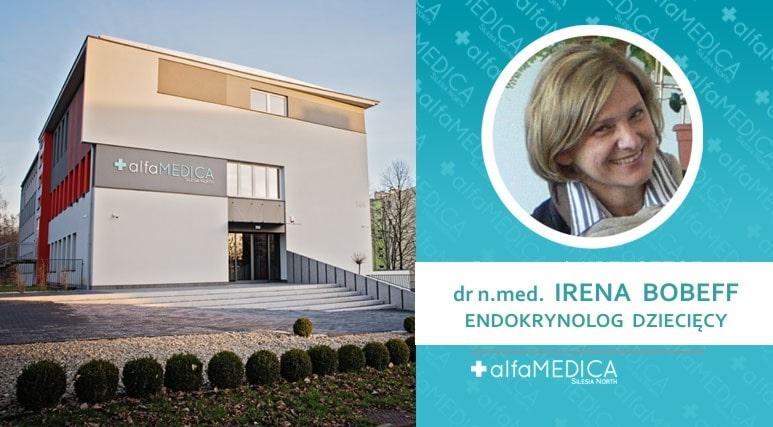 endokrynolog dziecięcy dr n.med. Irena Bobeff