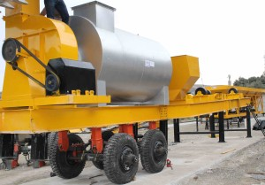 ALFA Drum Mix Mobile Plant Asphalt