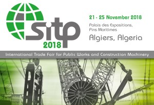 Construction Machinery Fair, Algeria 21-25 Nov, 2018