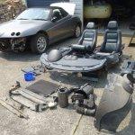 Alfa Romeo Gtv Spider 916 Complete Set Of Door Card Screws Fixings Vehicle Parts Accessories Other Interior Parts Trim