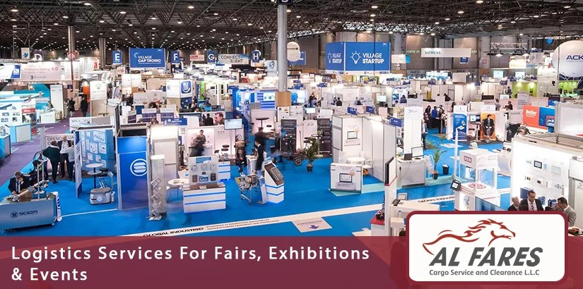 Logistics Services For Fairs, Exhibitions & Events