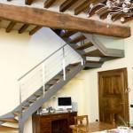 scale interne in ferro e legno Elite Line wood- Alfa Scale
