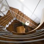 Vista dall'alto scale in ferro elite Strike Wood Alfa scale