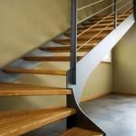 spiral stairs-elite line wood-alfascale