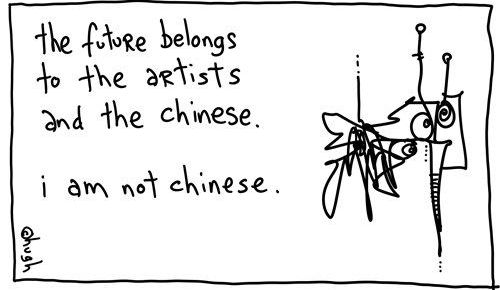 Cartoon by Hugh McLeod @gapingvoid