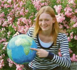 Eva-Marie Hüppmeier betreut in Malawi Aids-Waisenkinder