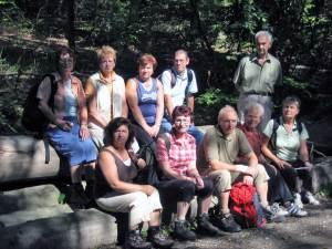 August-Wanderung der Wanderfreunde des SV RW Alfen