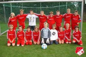 D-Jugend des SV RW Alfen ist Herbstmeister