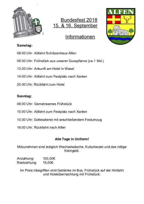 Bundesfest in Xanten