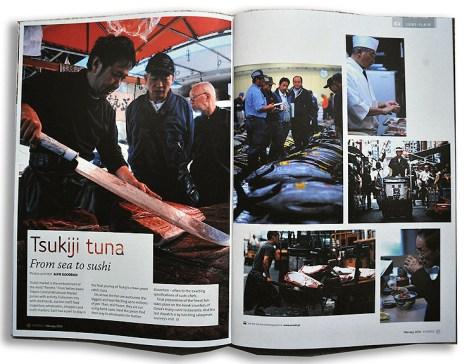 Feature for Eurobiz magazine