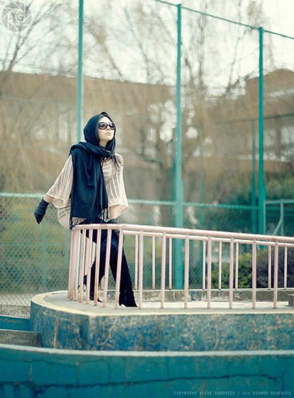 Natsuko in the playground