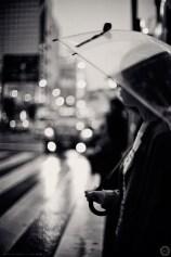 Evening rain, Okachimachi, Tokyo