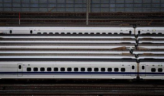 Bullet-train parking, Tokyo